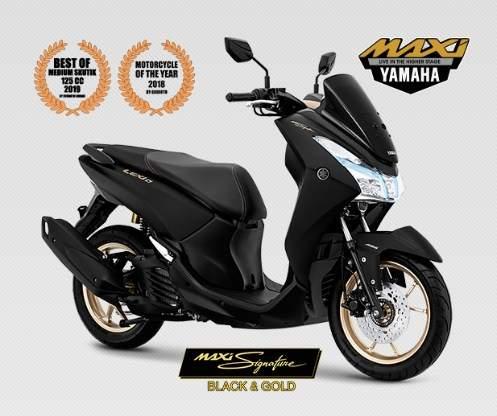 Warna dan Harga Yamaha Lexi 125cc Maxi Signature