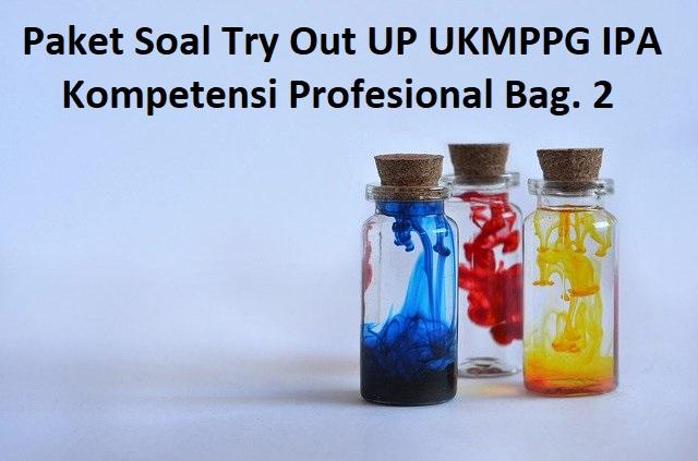 Paket Soal Try Out UP UKMPPG IPA Kompetensi Profesional Bag. 2