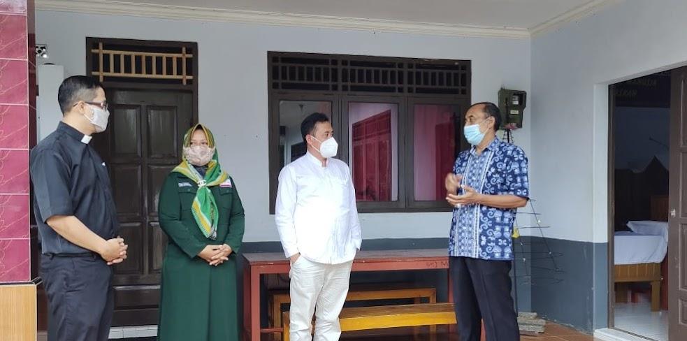 Pasca Bom Makassar, Wabup Pemalang Kunjugi GKJ Moga