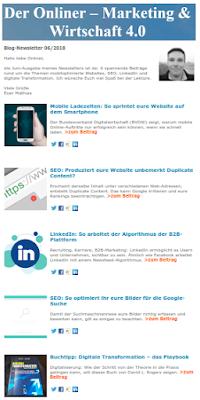 Blog-Newsletter Online-Marketing & Digitalisierung