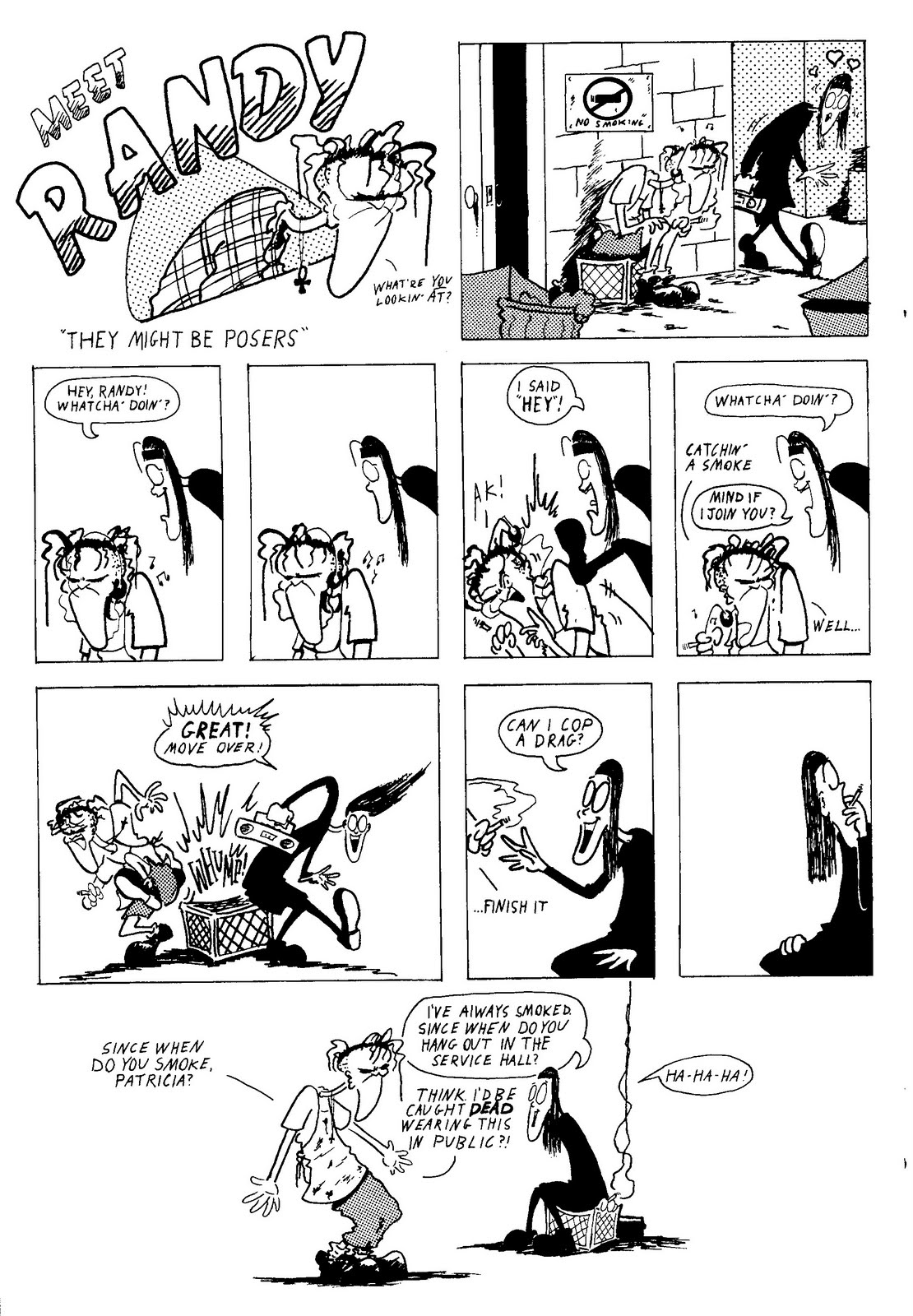 Randy In Slacker Comics