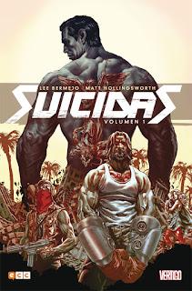 """Cómic: Reseña de """"Suicidas vol. 1"""" de Lee Bermejo [ECC Ediciones]."""