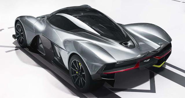 アストンマーチンとレッドブルの共同開発ハイパーカー「AM-RB 001」を公開!