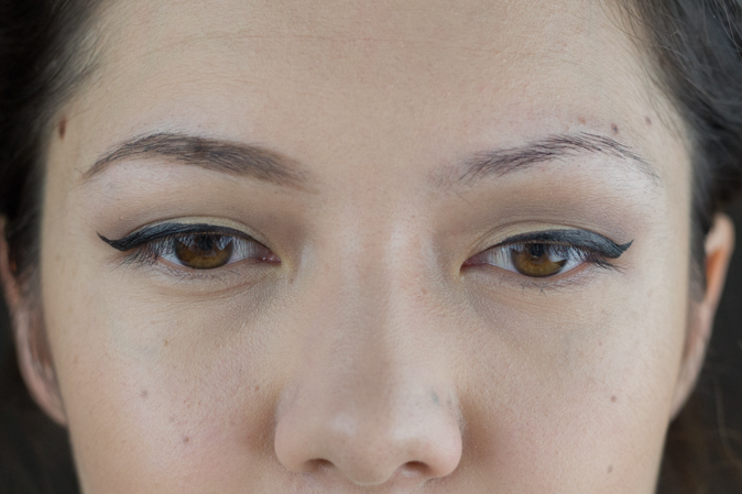 Annabelle Stay Sharp Brow Liner in Taupe Worn Face Shot