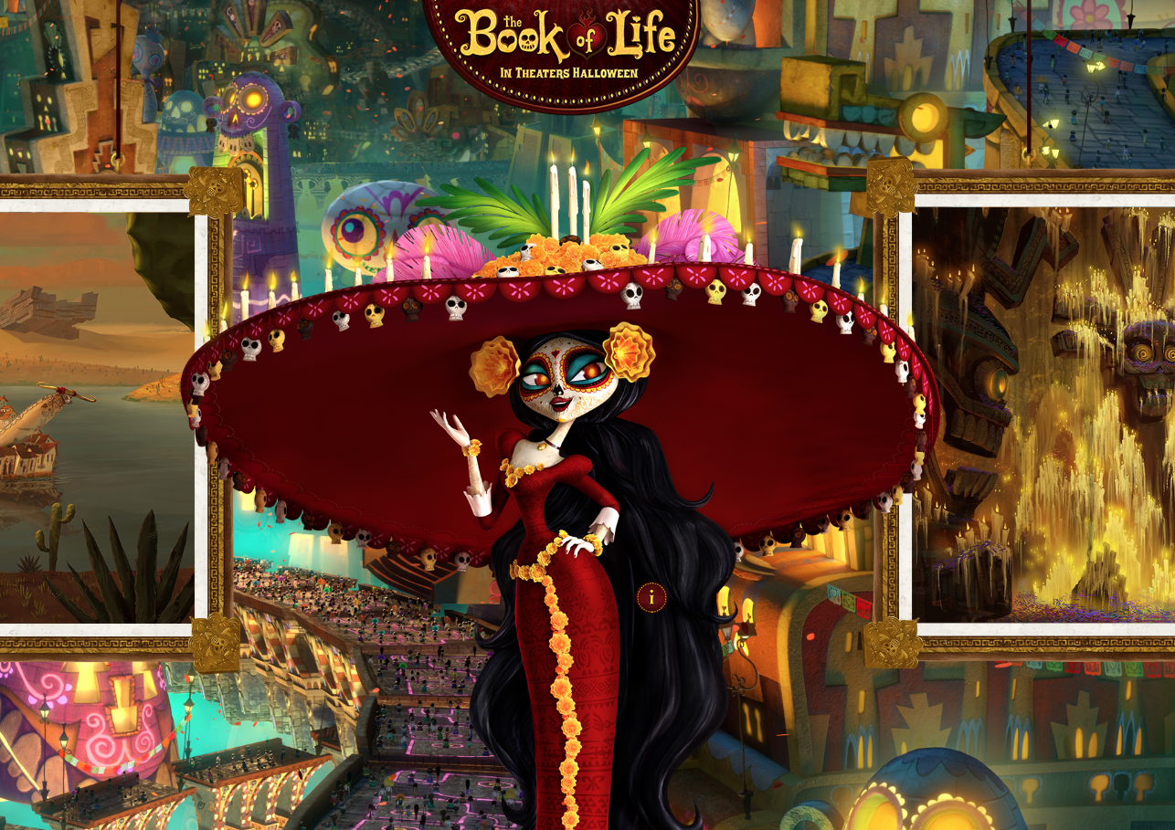 The Book Of Life 2014 Movie Hd Wallpapers
