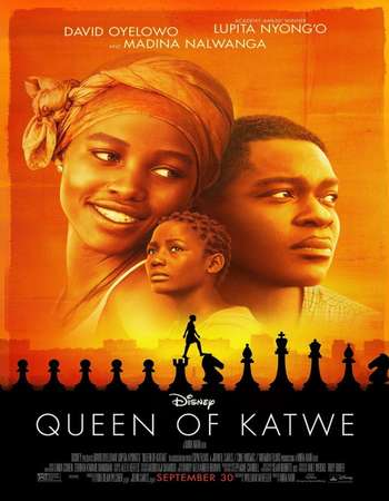 Poster Of Queen of Katwe 2016 Hindi ORG Dual Audio  300MB    Free Download Watch Online world4ufree.org