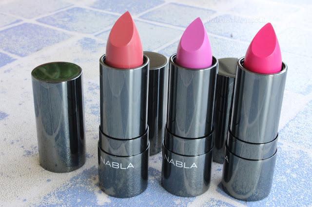 Nabla Diva Crime Lipsticks