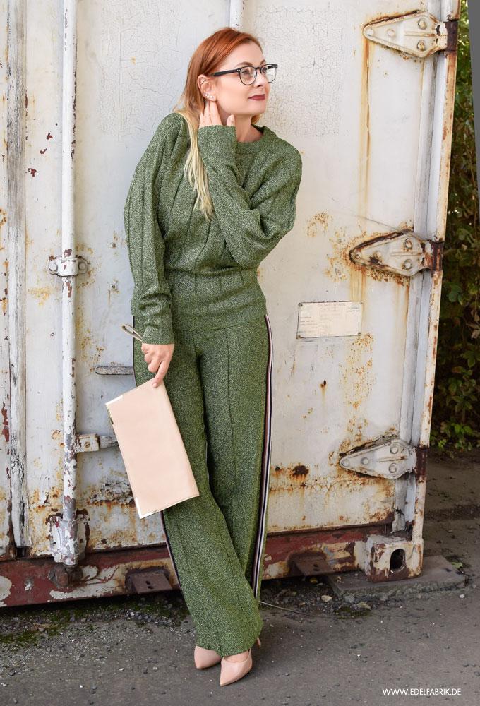 Stefanie Giesinger und Kourtney Kardashian H&M Glitzerhose