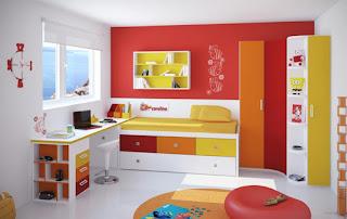 تصميم غرفة نوم للأطفال حديثة