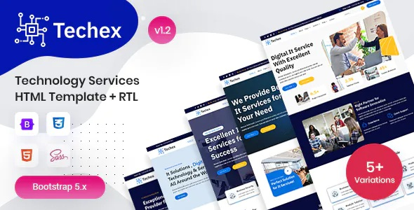 Best Technology Services HTML Template