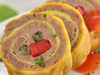 Rolade Daging Sayur