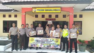 Barakallah Wujud Kepedulian Polsek Tanjung Agung Terhadap Masyarakat