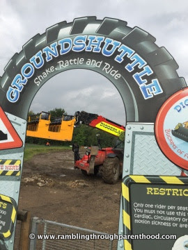 Ground Shuttle at Diggerland