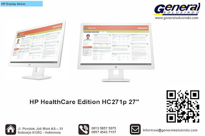 HP HealthCare Edition HC271p 27""