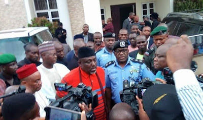 Angry Governor Okorocha Speaks, Heads To Imo Police Command For A Rescue Mission