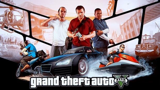 تحميل لعبة جاتا  grand theft auto v من mediafire