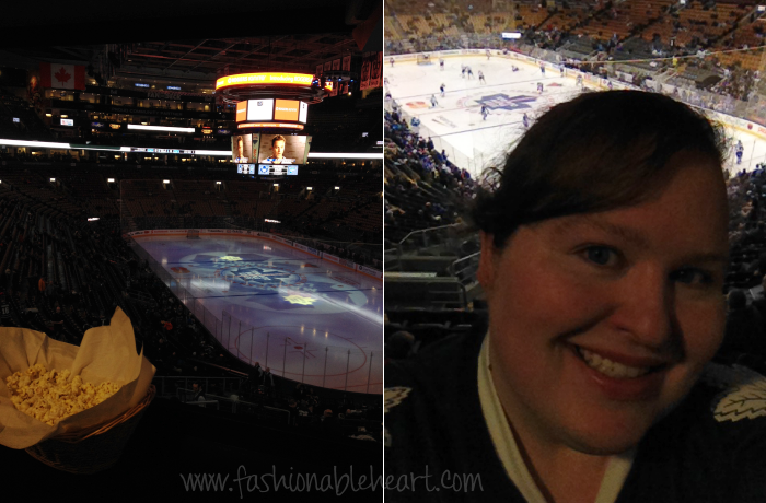 acc nhl suite leafs hockey game
