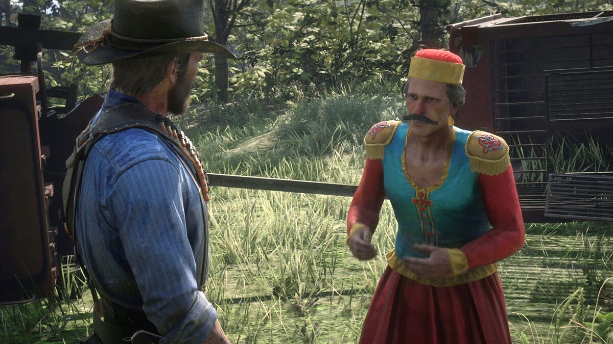 Circus in Red Dead Redemption 2