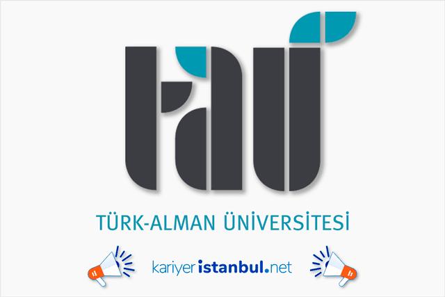 Türk-Alman Üniversitesi, kura ile en az ilköğretim, en fazla lise mezunu temizlik elemanı alımı yapacak. Detaylar kariyeristanbul.net'te!