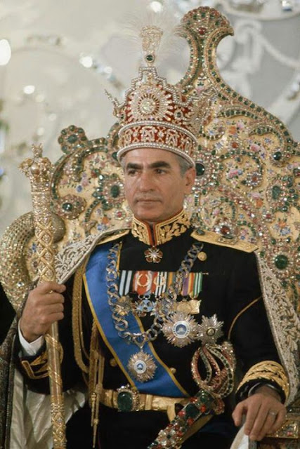 Mohammad Reza Pahlavi. The last Shah of Iran.