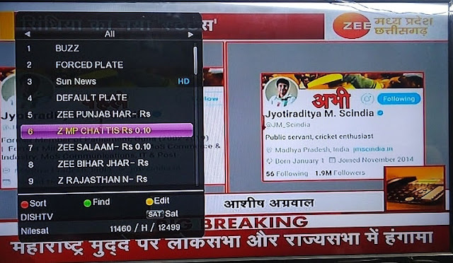zee news mp cg live hindi, zee mp cg TV frequency, madhya pradesh chhattisgarh news