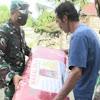 Kasur Pangdam XIIV/Hsn Lelapkan Tidur Warga Korban Banjir Bandang di Sultra
