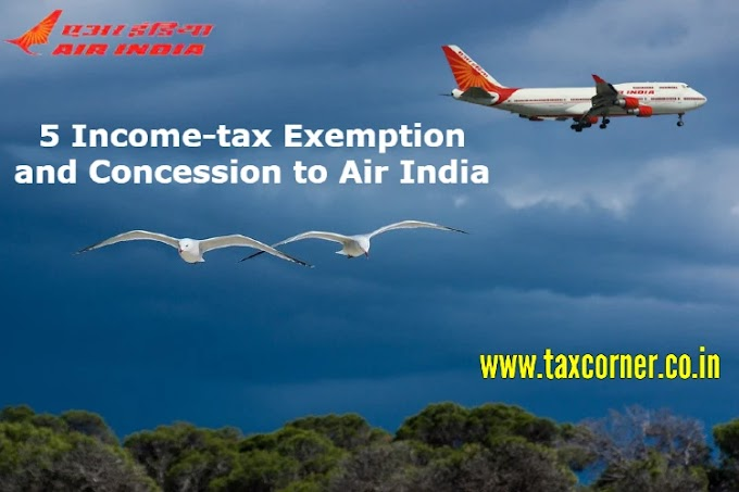 5 Income-tax Exemption and Concession to Air India