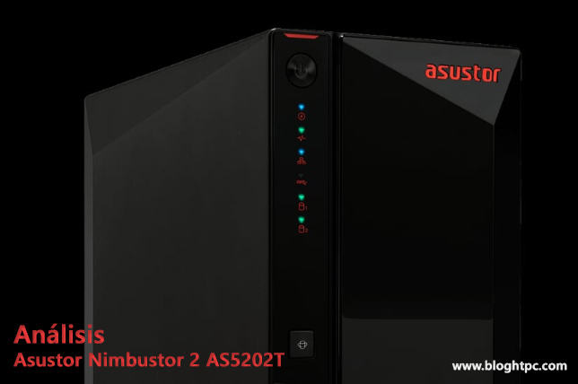 "Clic ""Análisis NAS Asustor Nimbustor 2"" AS5202T"