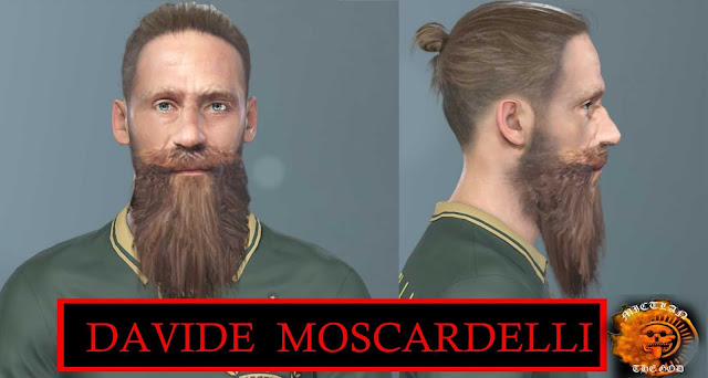 Davide Moscardelli Face Pes 2019-2020 by MictlanTheGod