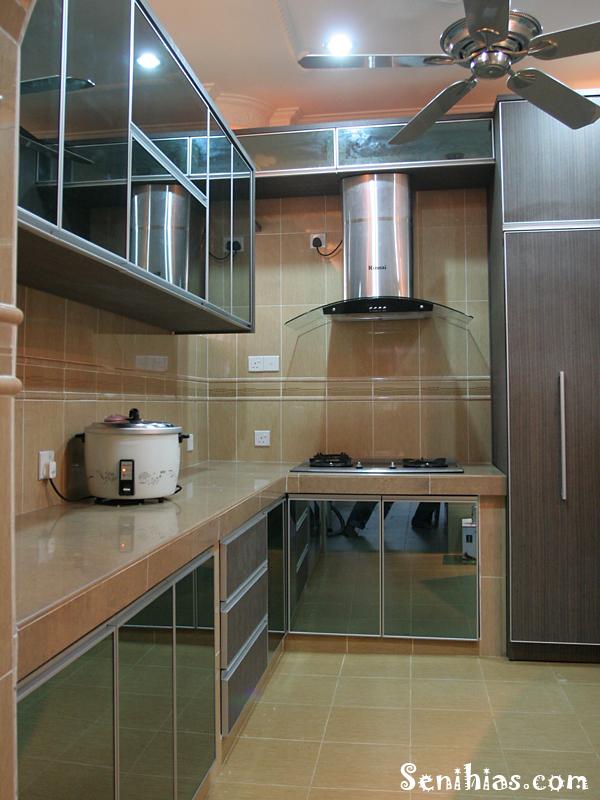 Hiasan Ruang Dapur Rumah Teres