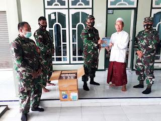 Dandim 0719/Jepara Melanjutkan Anjangsana Kyai Mundhofar Tokoh Agama di Mayong