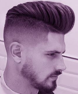 Model potongan rambut high fade
