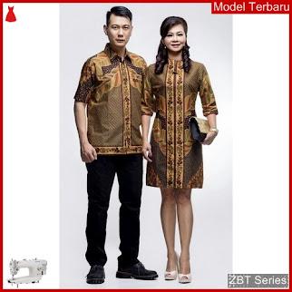 ZBT14109 Kebaya Batik Couple Sogan Katun Primis BMGShop