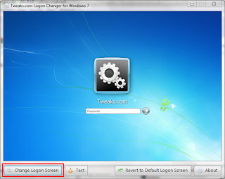 Cara Mengganti Logon Screen Windows 7