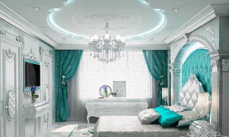 ديكورات جبس غرف نوم 2020 تصاميم أسقف ساحرة بالصور