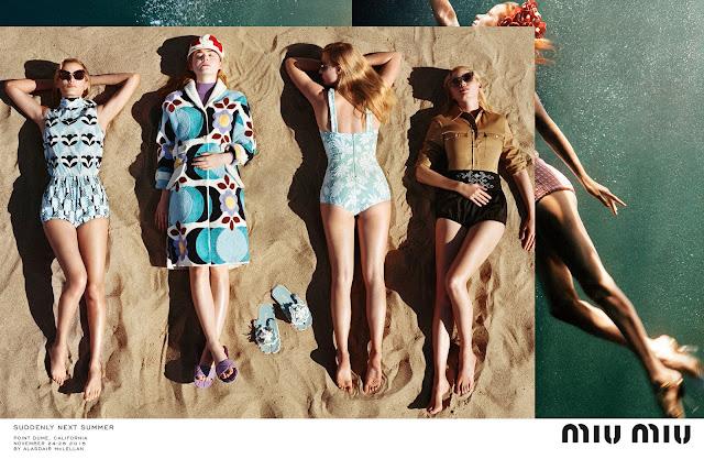 Elle Fanning Stars In Miu Miu's Breezy New Campaign