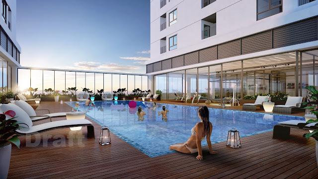 Bể bơi dự án ICID Complex