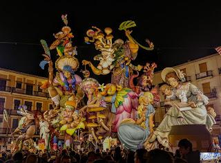 2018 Las Fallas Valencia
