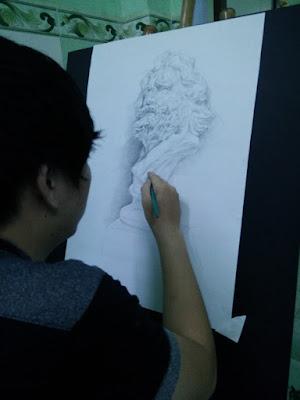 Học vẽ chân dung tp hcm