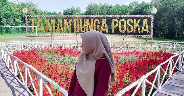 Objek Wisata Taman Bunga Poska Tabalong