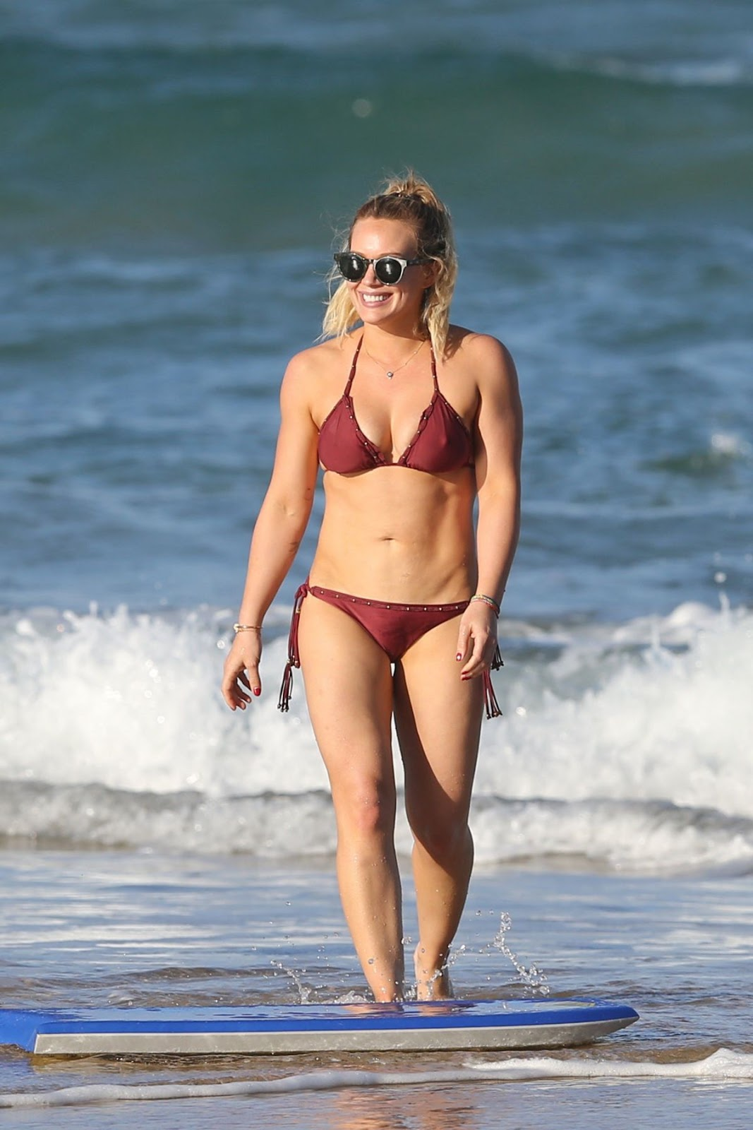Hilary Duff Hottest Bikini Look Ever
