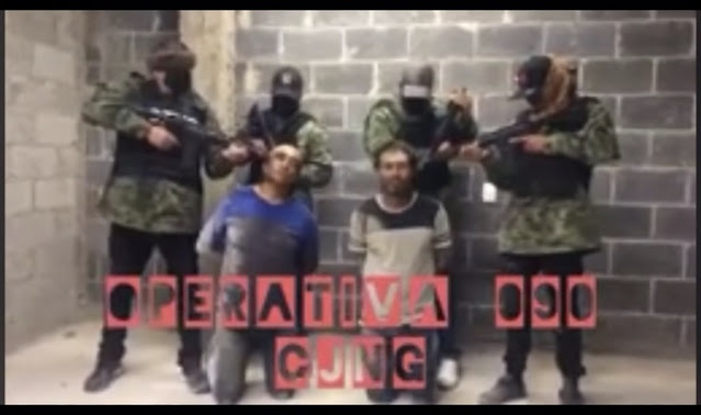 Video: No han comido en una semana; Sicarios del CJNG levantan e interrogan a 2 del Cártel de Sinaloa en Zacatecas