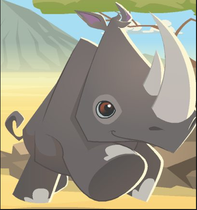 Belle The Rhino