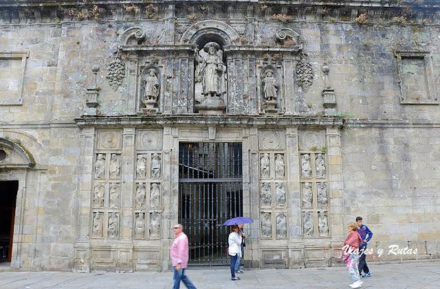 Puerta del Perdón, catedral de Santiago de Compostela