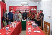 HVK Pimpin Komisi I Kunker ke Inspektorat dan Dukcapil Minsel