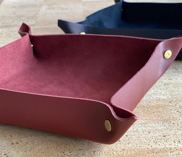 customised leather valet tray,toppla review, toppla review  etsy, toppla review blog