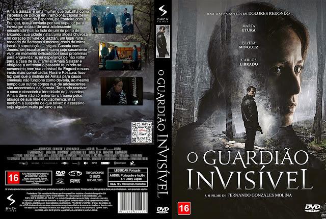Capa DVD O Guardião Invisível [Exclusiva]