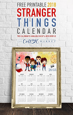 Stranger Things Calendar