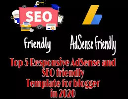 Adsense Friendly Blogger Templates 2020 | Responsive | SEO Friendly