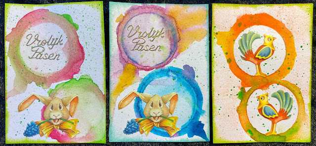 Easter ATC's (Artist Trading Cards)
